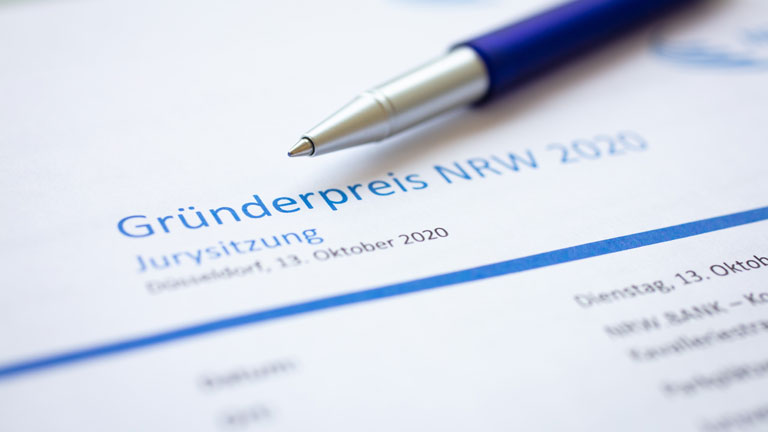 Gründerpreis NRW 2020